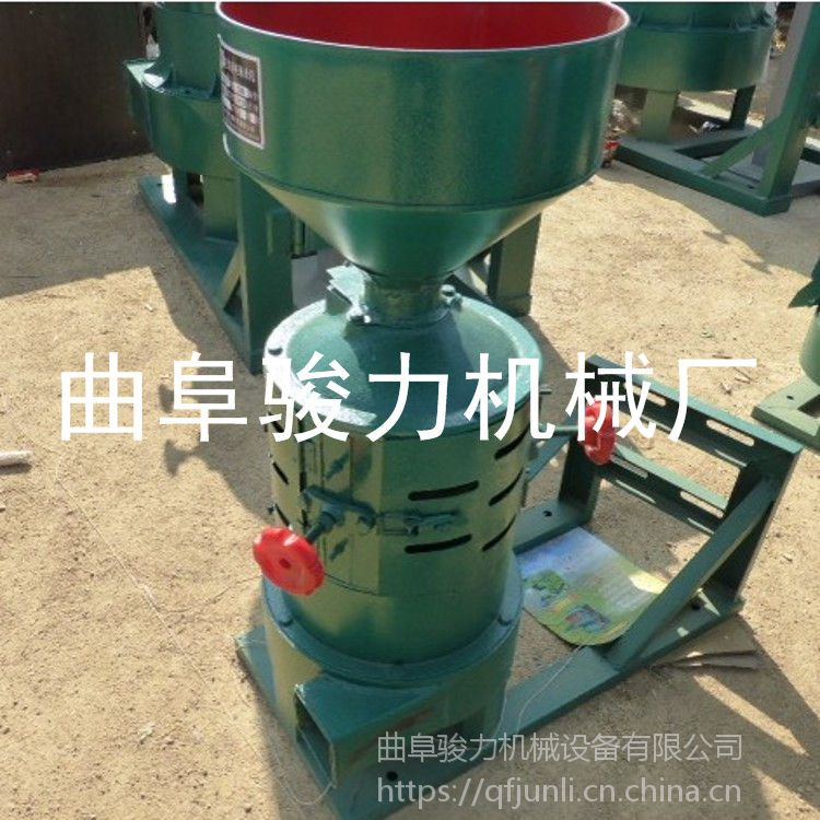 立式砂棍脱壳机 骏力牌 谷子碾米机 粮食加工碾米机 规格