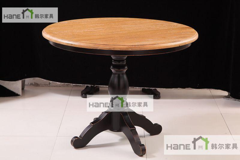厂家供应南京杨四渔港餐椅 餐厅实木桌子椅子生产定制厂家 上海韩尔品牌