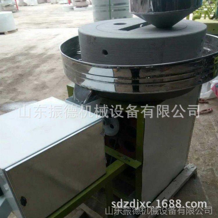 高粱小麦石磨面机 振德 商用小麦石磨面粉机 电动香油石磨机