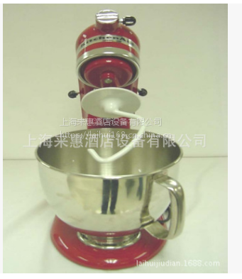 美国KitchenAid厨宝抬头式搅拌机鲜奶机 打蛋机5K45SSWH商用设备