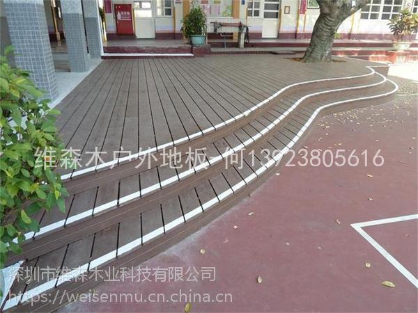 湖南长沙户外地板厂家供应优质10025实心木栈道防腐防霉地板