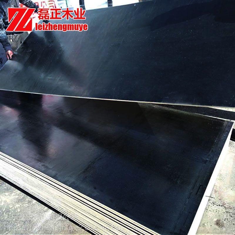 建筑模板1.1mm木质建筑模板全杨木整芯胶合板山东厂家磊正木业