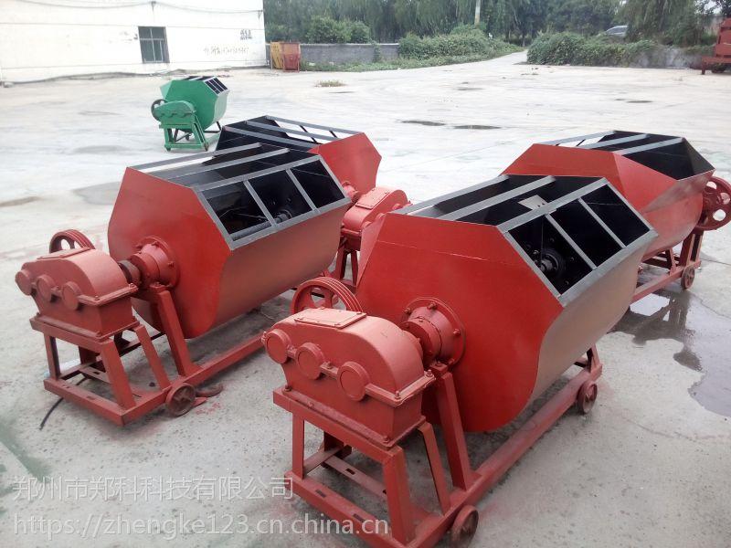 通州郑科350-500侧翻出料单轴运转砂浆搅拌机