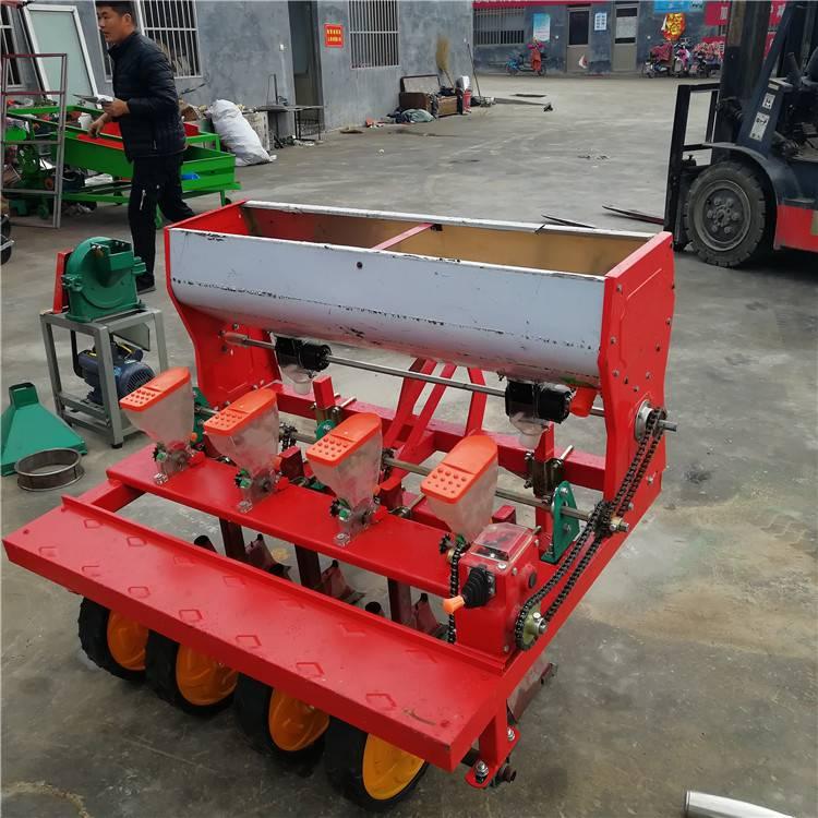 拖拉机车载式播种机 农用施肥播种机 大型谷子精播机