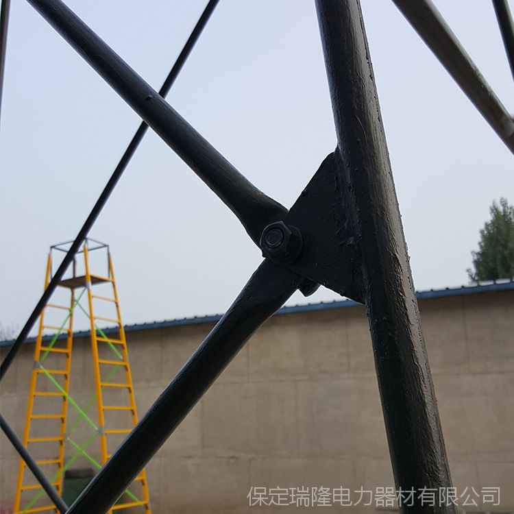 厂家直销 接触网检修金属钢管梯车 电气化铁路施工钢制梯车