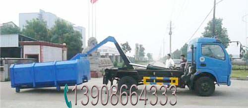 8方钩臂垃圾车生产厂家,东风车型,全国联保