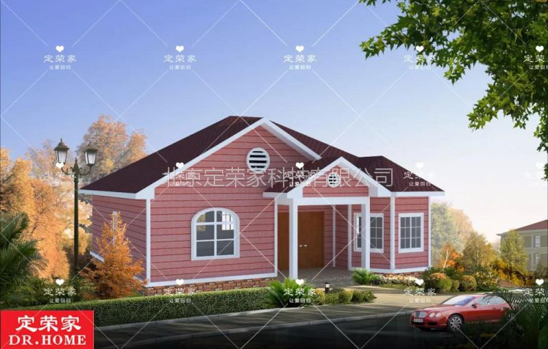 定荣家农村自建房价格 设计图纸 轻钢结构