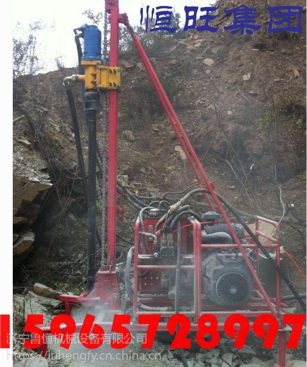 恒旺供应合江县习水县轻便山地钻机 三维物探孔径75石油钻机 地震波浅孔钻机