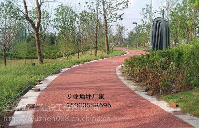 张掖彩色透水混凝土材料施工一体化厂家