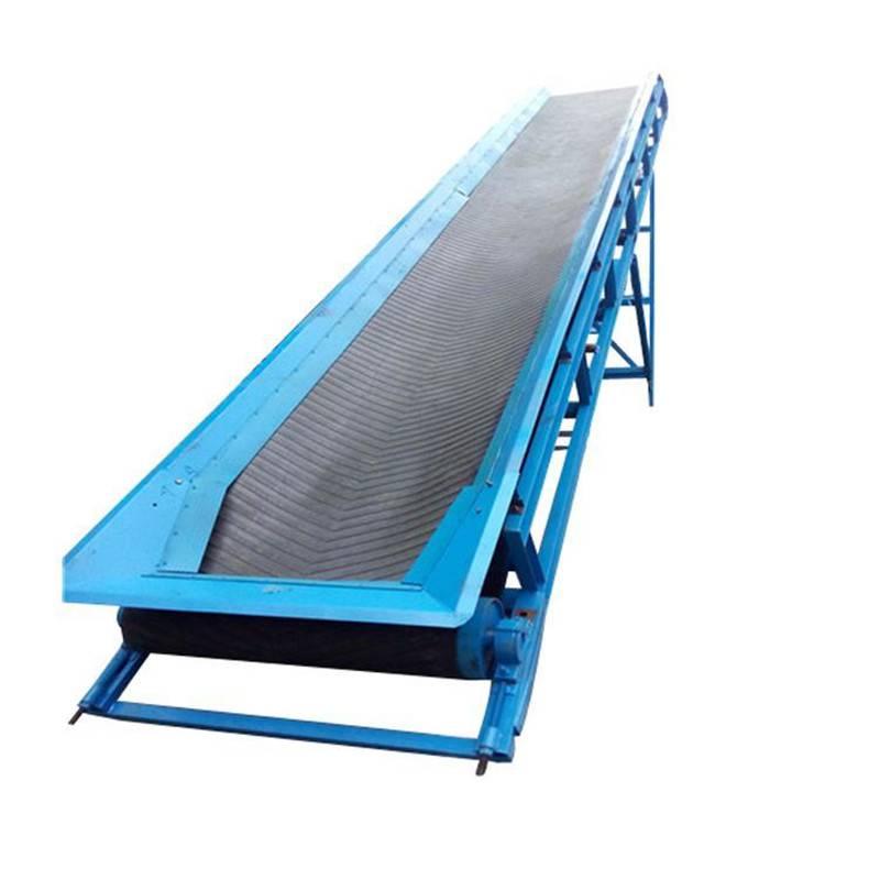 专业皮带输送机 耐高温传送带 沙场装卸输送机