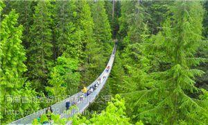 湖北景区吊桥价格 详询润发游乐 品质专业