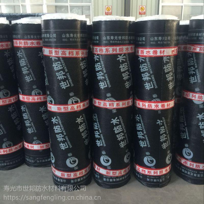 屋面专用SBS防水卷材 防水厂家直销聚酯胎SBS防水卷材