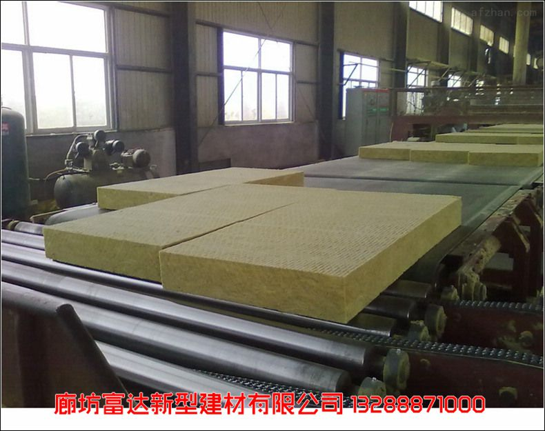 批量价优半硬质岩棉板 (富达)绿色环保高端优质建筑岩棉板