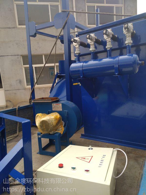 济南高除尘率脉冲袋式除尘器供应丨工业除尘设备上门安装丨袋式除尘器报价