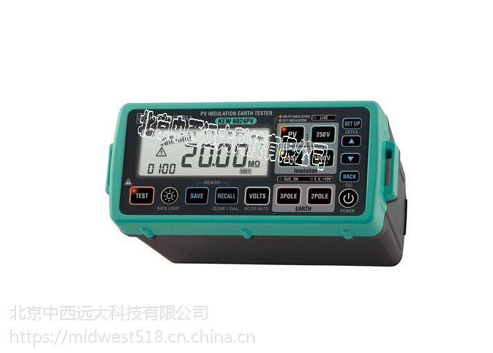 中西 6024PV多功能测试仪 型号:KL14-Kyoritsu/6024PV库号:M96739