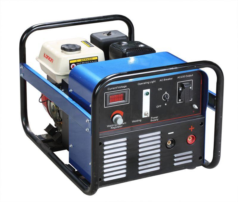 惠州德力WG系列汽油发电电焊两用机