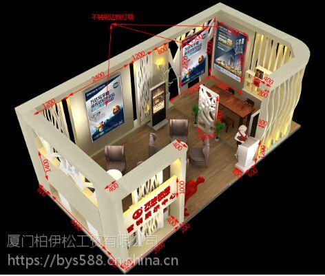 厦门售楼中心展示柜,房产展示柜,售楼展示架,售楼展台搭建,柜台定做。