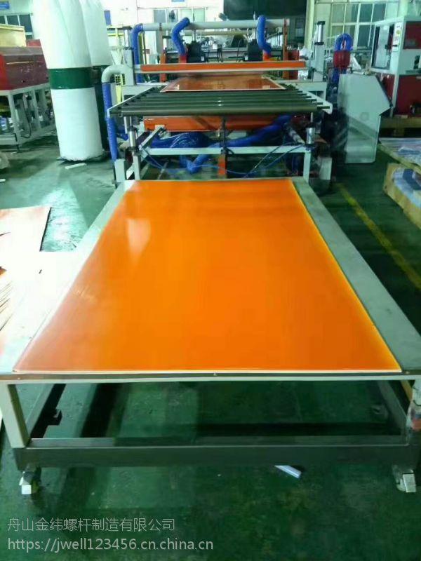 PVC半结皮(木塑)发泡板、共挤发泡板生产线