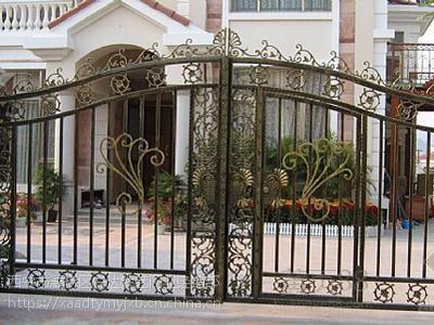 西安安装铁艺大门,西安定做铁艺大门