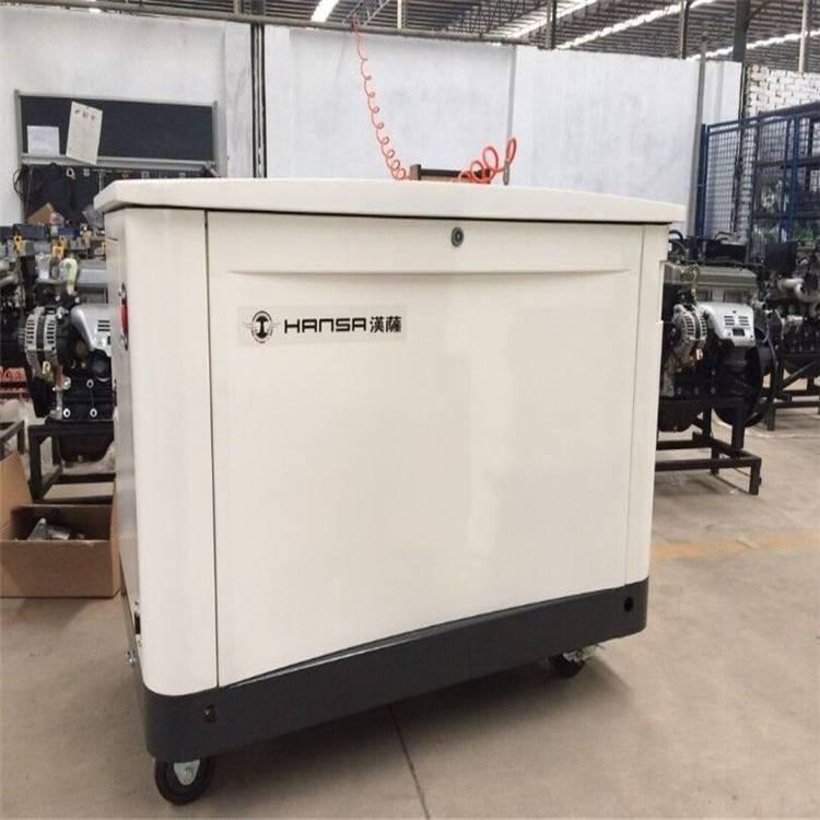 静音箱式30KW三相发电机 多燃料汽油发电机