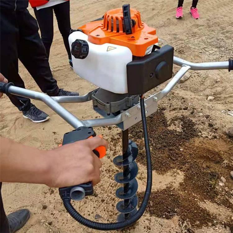圣鲁牌 电线杆挖坑机 大棚种植挖坑机