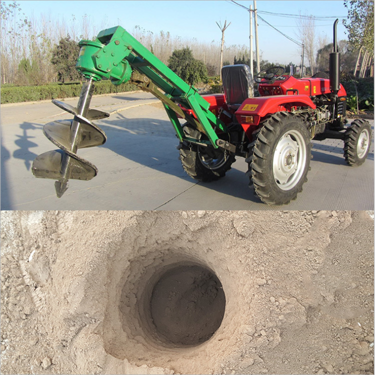 家用小型挖坑机 螺旋上土打孔机 花木种植打眼机