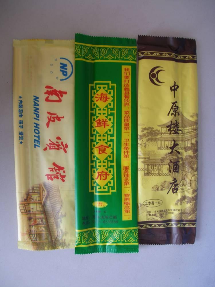 沧州定做酒店筷子湿巾