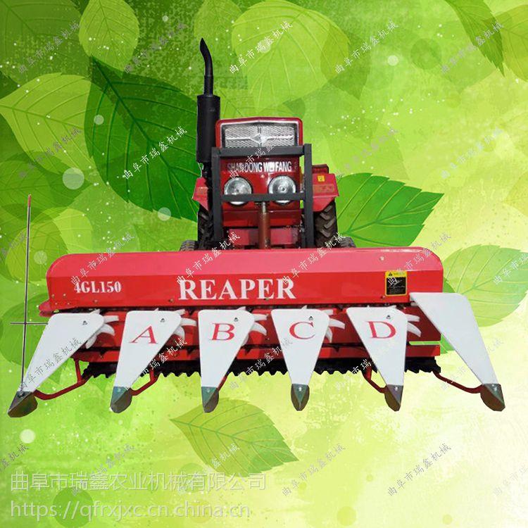 自走式稻麦收割机 手扶前置式割晒机 手推式艾草割晒机