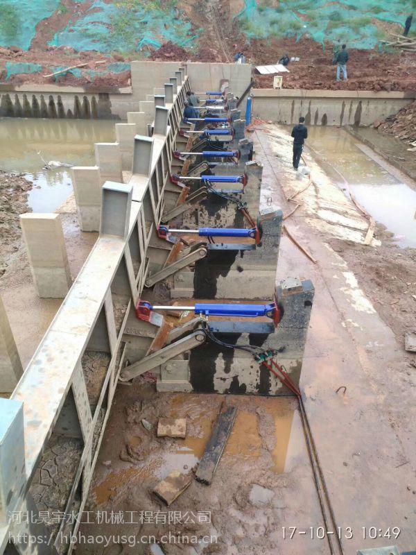河北昊宇水工联动钢铰线液压升降坝价格合理