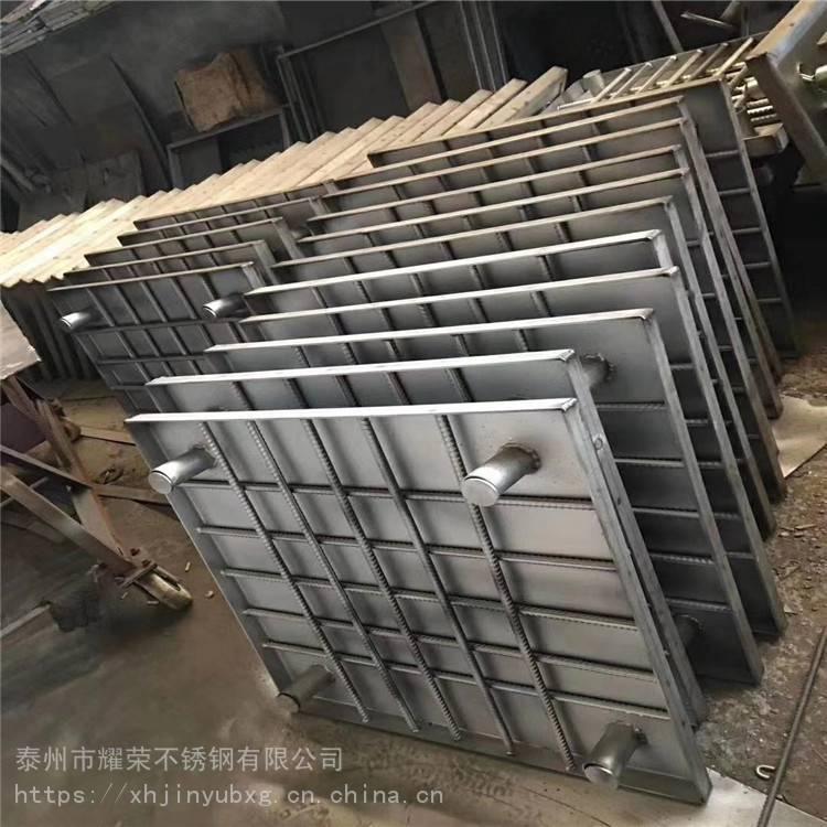 金裕 专业定制 地下商场窨井盖 700*700店铺水管道不锈钢井盖