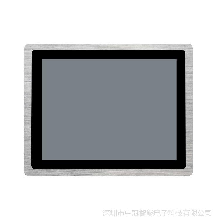 15寸工业超薄IP65防水防尘电容触摸设备 安卓平板电脑平面触摸一体机