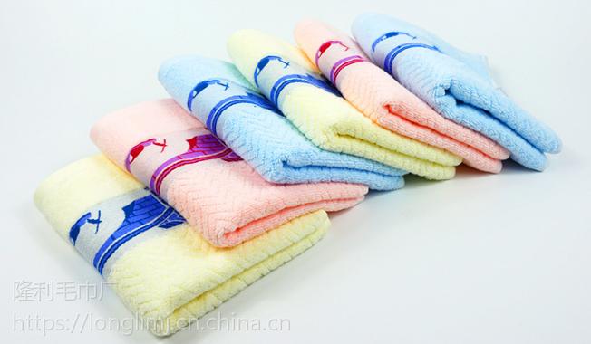 厂家直销批发 江南小镇加厚纯棉成人洗脸面巾