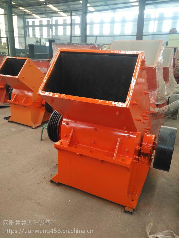 陕西华阴天旺PC800X600型煤矸石锤式破碎机价格