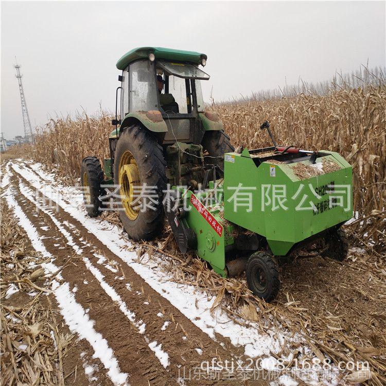 全新玉米秸秆粉碎打捆机 什么样的秸秆都可以用的打捆机