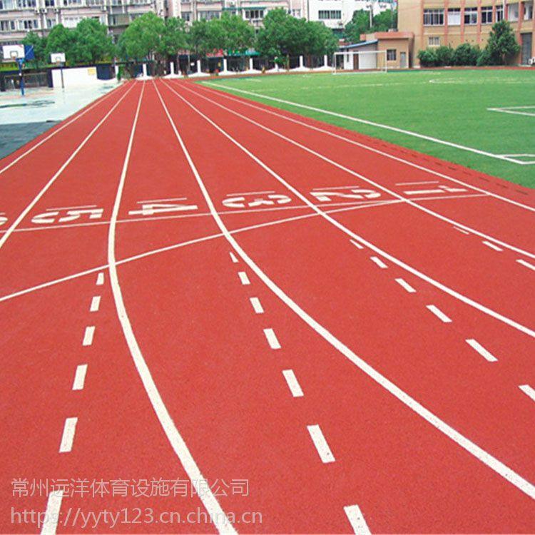 供应运动塑胶操场材料经济环保浙江学校混合型塑胶操场跑道施工