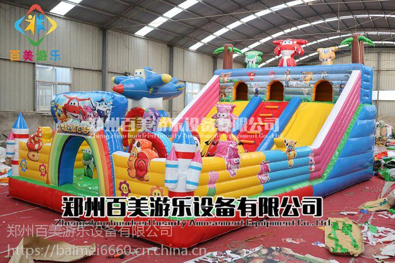 甘肃酒泉小丑充气城堡,摩天轮充气蹦蹦床这造型简直逆天了!