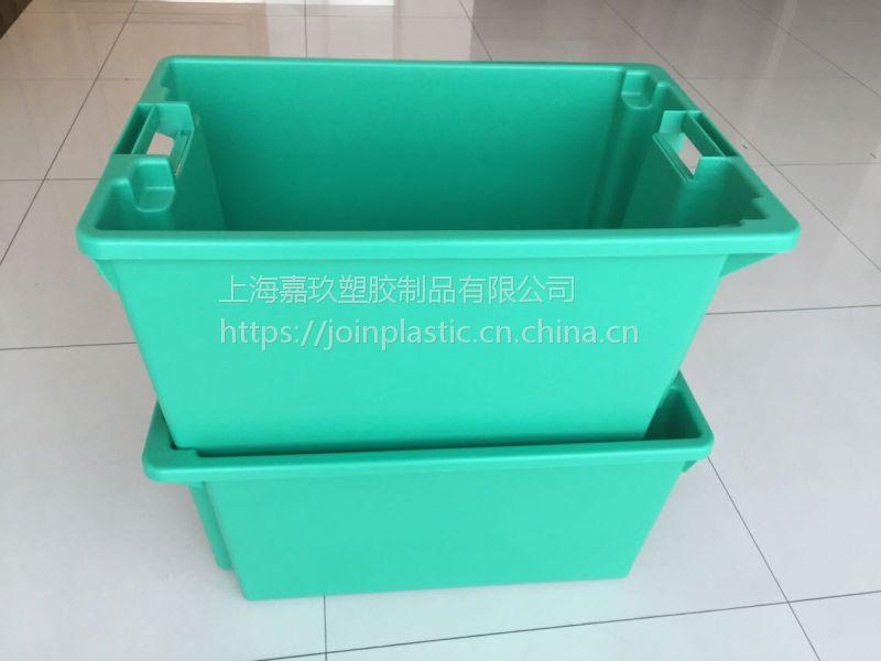 上海塑料物流箱集装塑料箱厂家