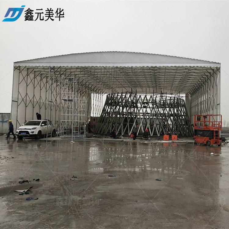 金华磐安县工地防雨蓬订购/雨棚布/活动帐篷伸缩哪家比较好