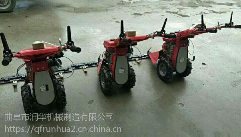 效率高的园林割草机 新型背负式直杆割草机 自走式草坪修剪机