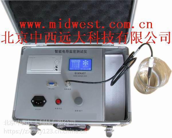 中西(DYP)数字直读式智能/绝缘子等值/绝缘子盐密测试仪:库号:M34953