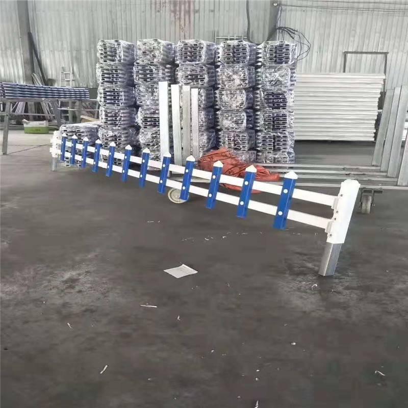 乡村新农村小栅栏 塑钢围栏 城市建设外环围栏