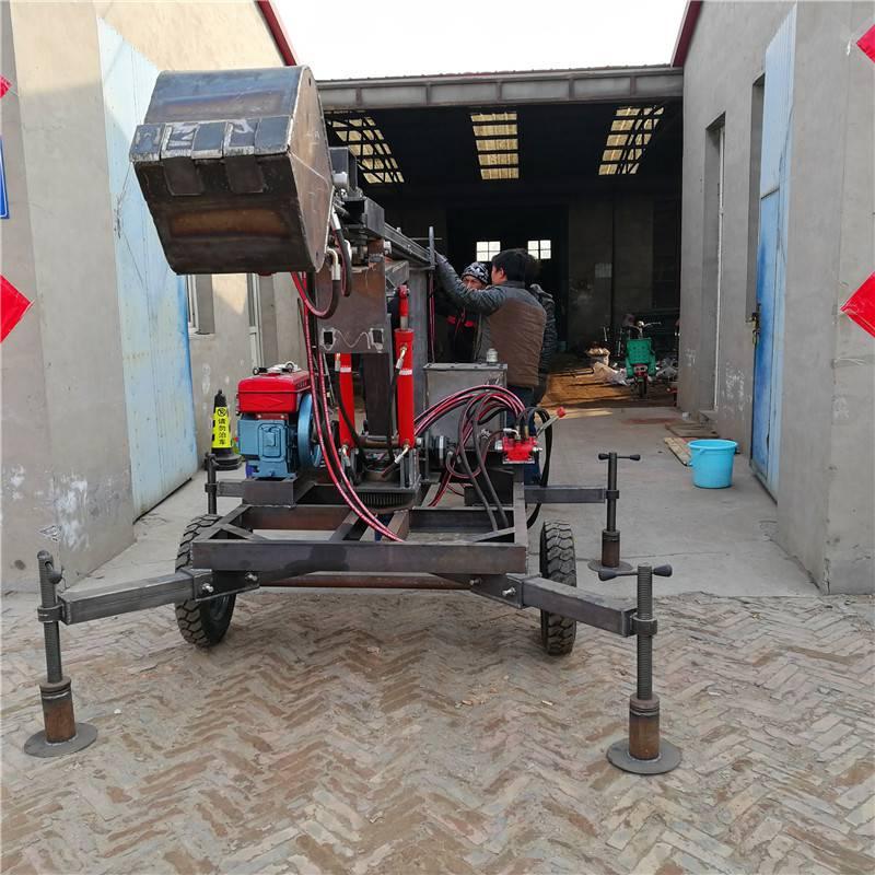 厂价批发生产污水管道清淤设备 保修一年 洪鑫抓斗式井底掏泥机器销售