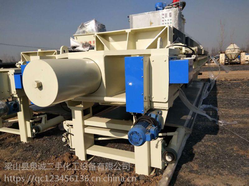 广州低价转让二手9成新隔膜压滤机,二手压滤机设备回收公司