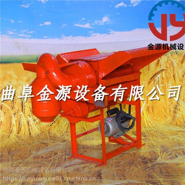 高效电动谷子打穗机 供应稻谷脱粒机厂家