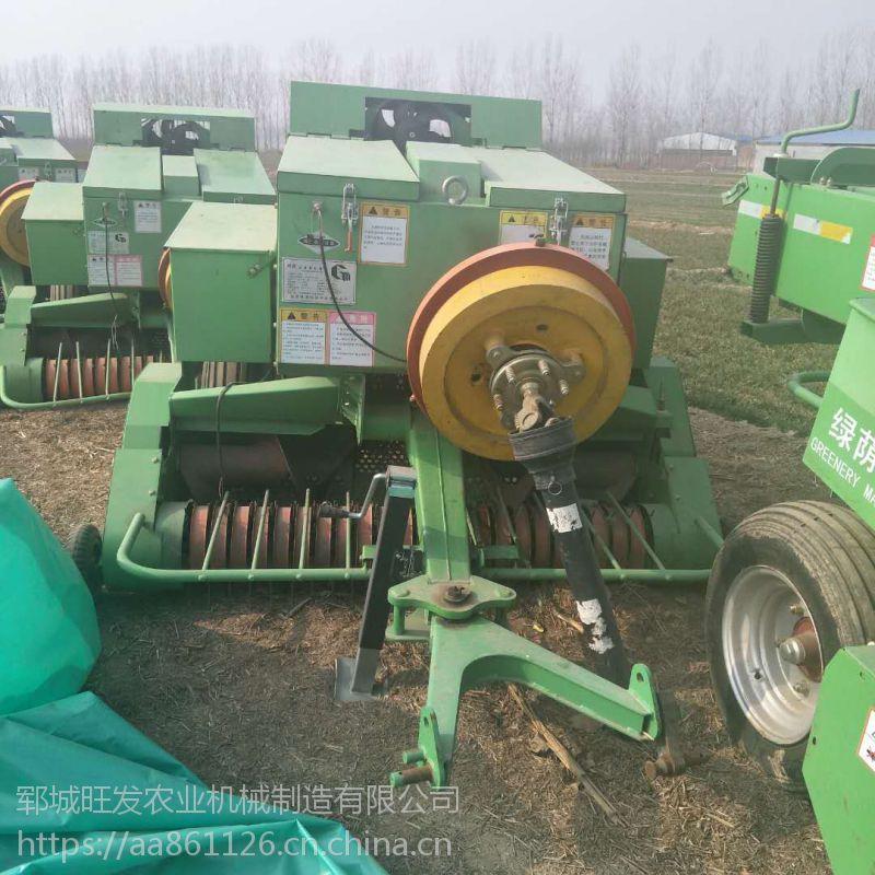 秸秆粉碎打捆机 秸秆青储牧草打捆包膜机