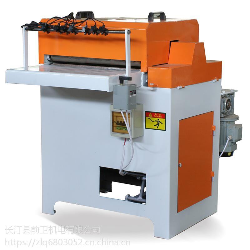 圆木清边锯夹套型材多片锯供应商木工机械