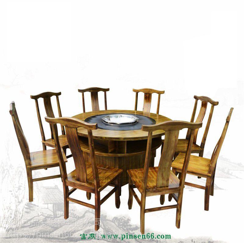 火锅餐桌是买圆桌好还是长桌好?火锅饭店桌子