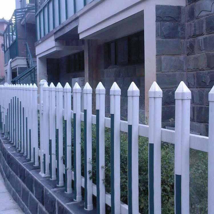 甘肃兰州榆中塑钢pvc围墙护栏护栏安装