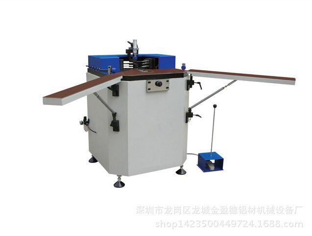 厂家供应铝合金组角机 铝门窗液压组角机 断桥铝合金加工设备图片