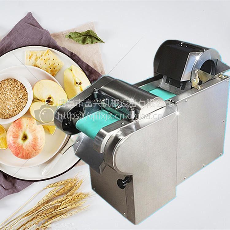 豆腐切块机 富兴猪皮切丝机 马铃薯切块机厂家价格